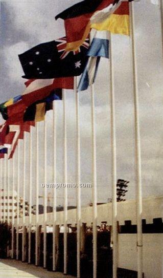 Fiberglass Yardarms For 25c Flagpole
