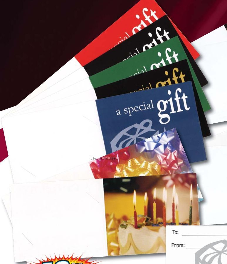 Gift Card Presenters