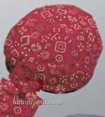 Red Bandana Cotton Do Rag