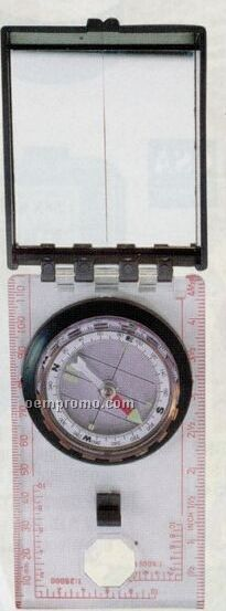 Rothco Military Orienteering Compass With Sighting Mirror