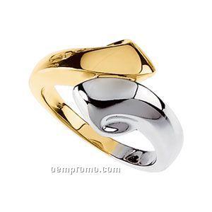 14ktt 13-1/4mm Ladies' Metal Fashion Ring