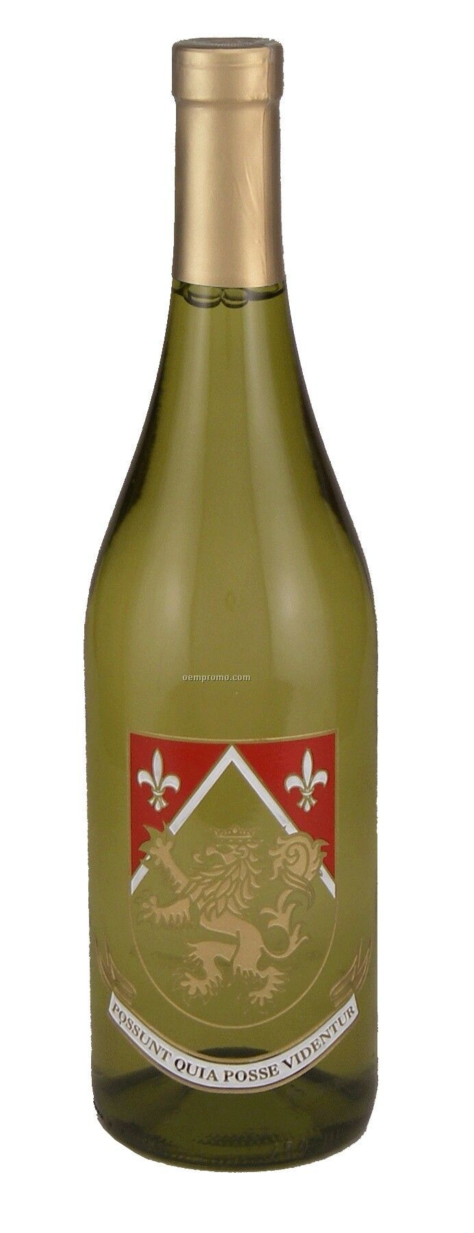 750ml Standard Chardonnay Wine Etched With 3 Color Fills