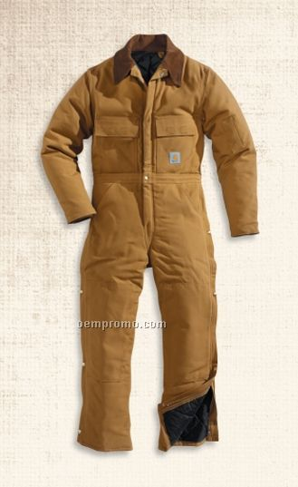 Carhartt Duck Arctic Quilt Lined Coverall