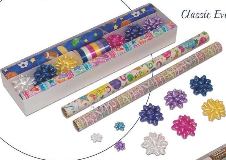 Classic Everyday Collection 4 Roll Holiday Kit