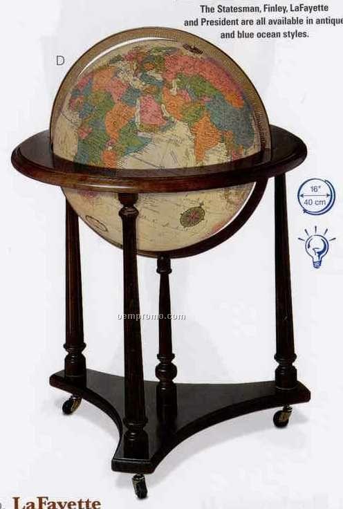 Lafayette Antique Ocean Globe