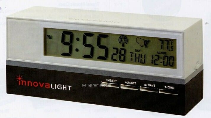 Retro Style Atomic Clock