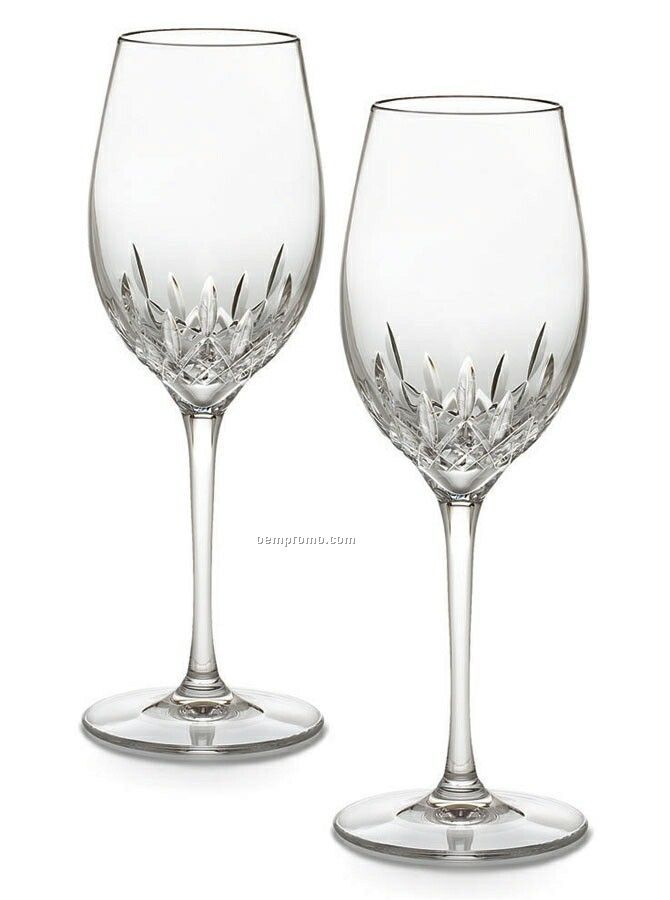 Waterford Crystal Lismore Essence White Wine (Set Of 2)