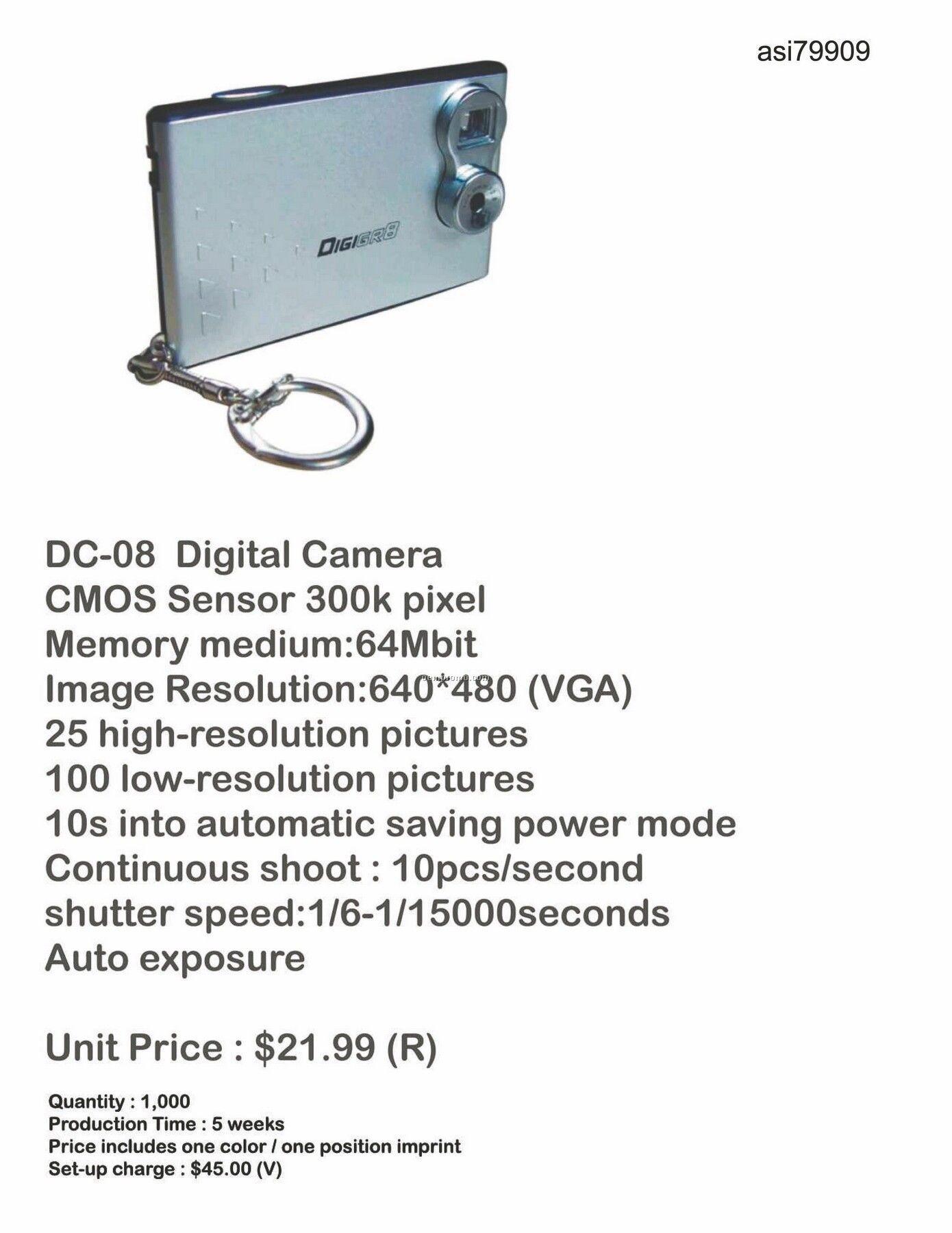 Digital Camera With 64mb Memory