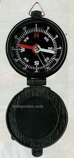 Lidded Military Pocket Compass