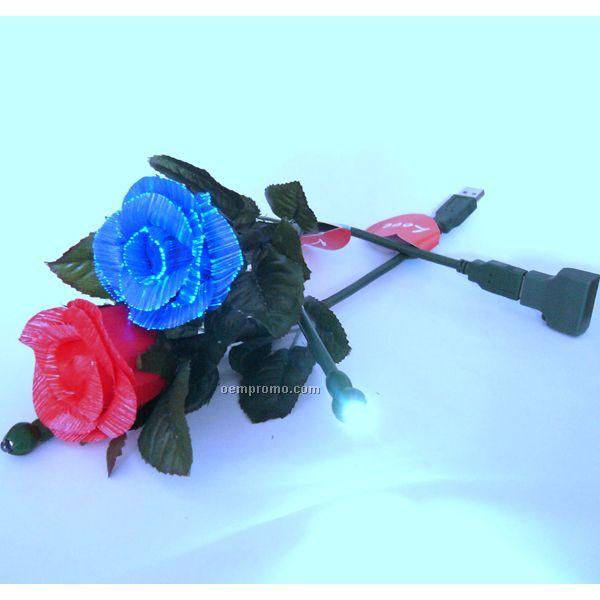 USB Flashing Rose