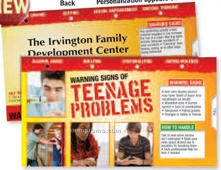 Warning Signs Of Teenage Problems Slideguide
