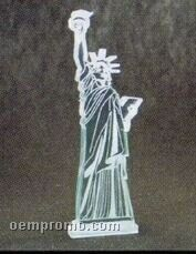 Acrylic Paperweight Up To 12 Square Inches / Statue Of Liberty