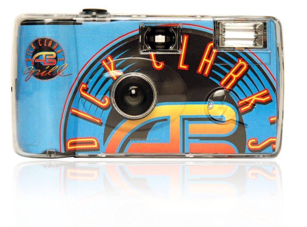 Custom Flash Disposable Camera - 27 Exposures