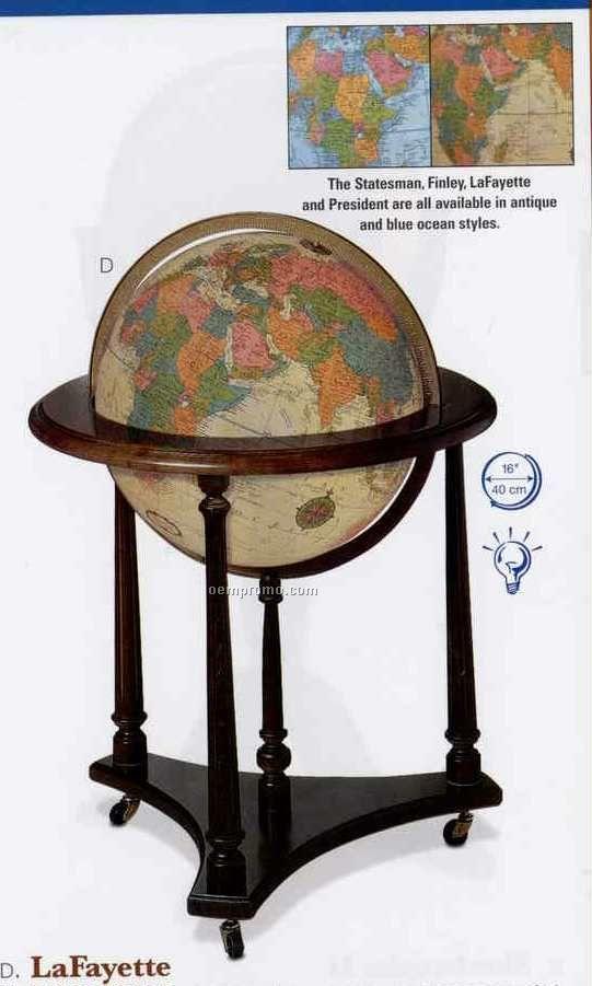 Lafayette Blue Ocean Globe