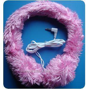 Plush Stereo Headphone