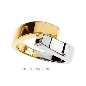 14ktt 9-1/4mm Ladies' Metal Fashion Ring