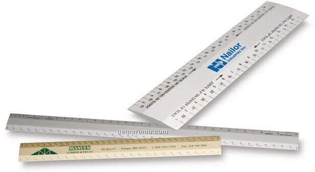 "6"" Joist / Truss Architect Scale, (3/32, 3/16), (1/8, 1/4)"