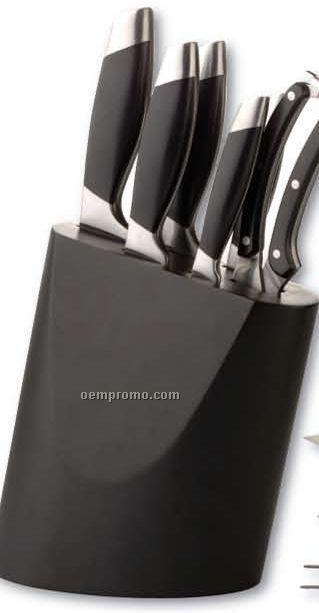7 Pieces Geminis Knife Block Set