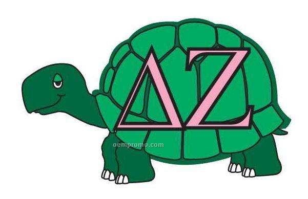 Delta Zeta Sorority Mascot Acrylic Coaster W/ Felt Back ...