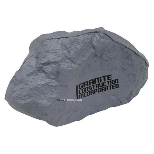 Gray Rock Squeeze Toy