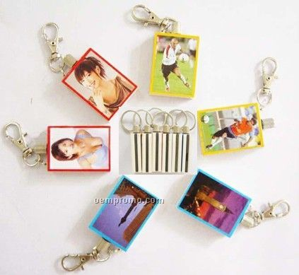 Multifunctional Key Chain With Matchstick