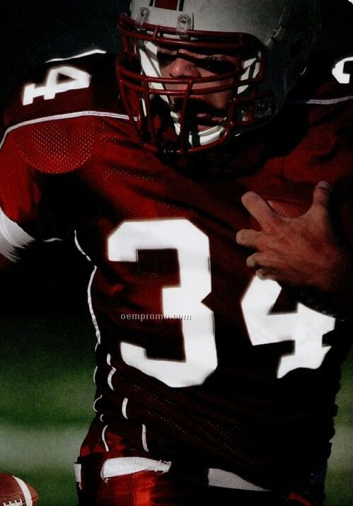 """Pre-cut Varsity Numbers - Poly-twill (4"""")"""