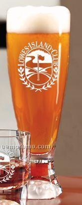 16 Oz. Fairway Tall Beer Glass (Set Of 4 - Light Etch)