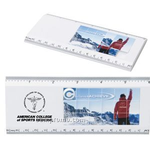"6"" Puzzle Ruler (4 Color Process)"