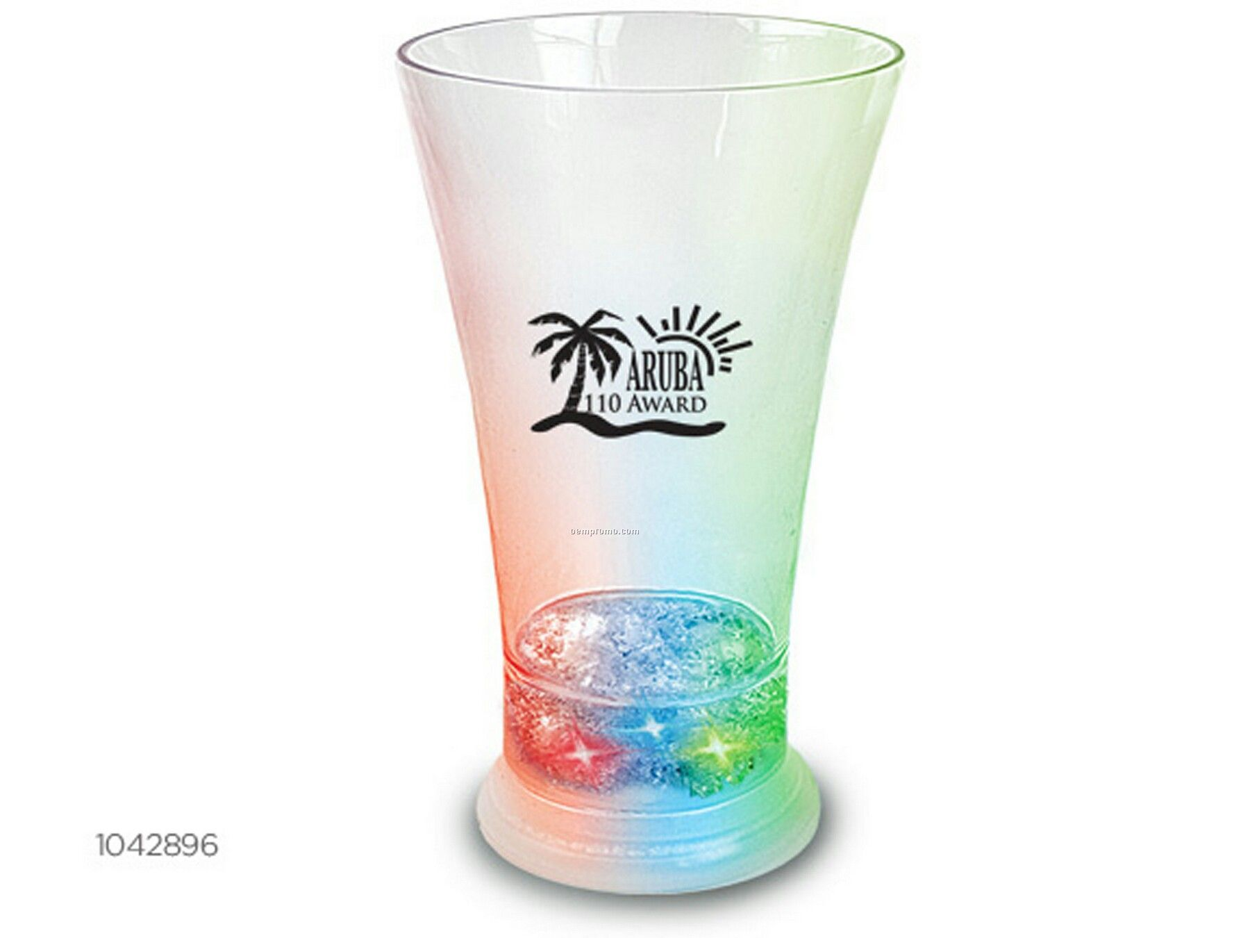Color Changing LED Drinkware - Pilsner Glass 12 Oz.