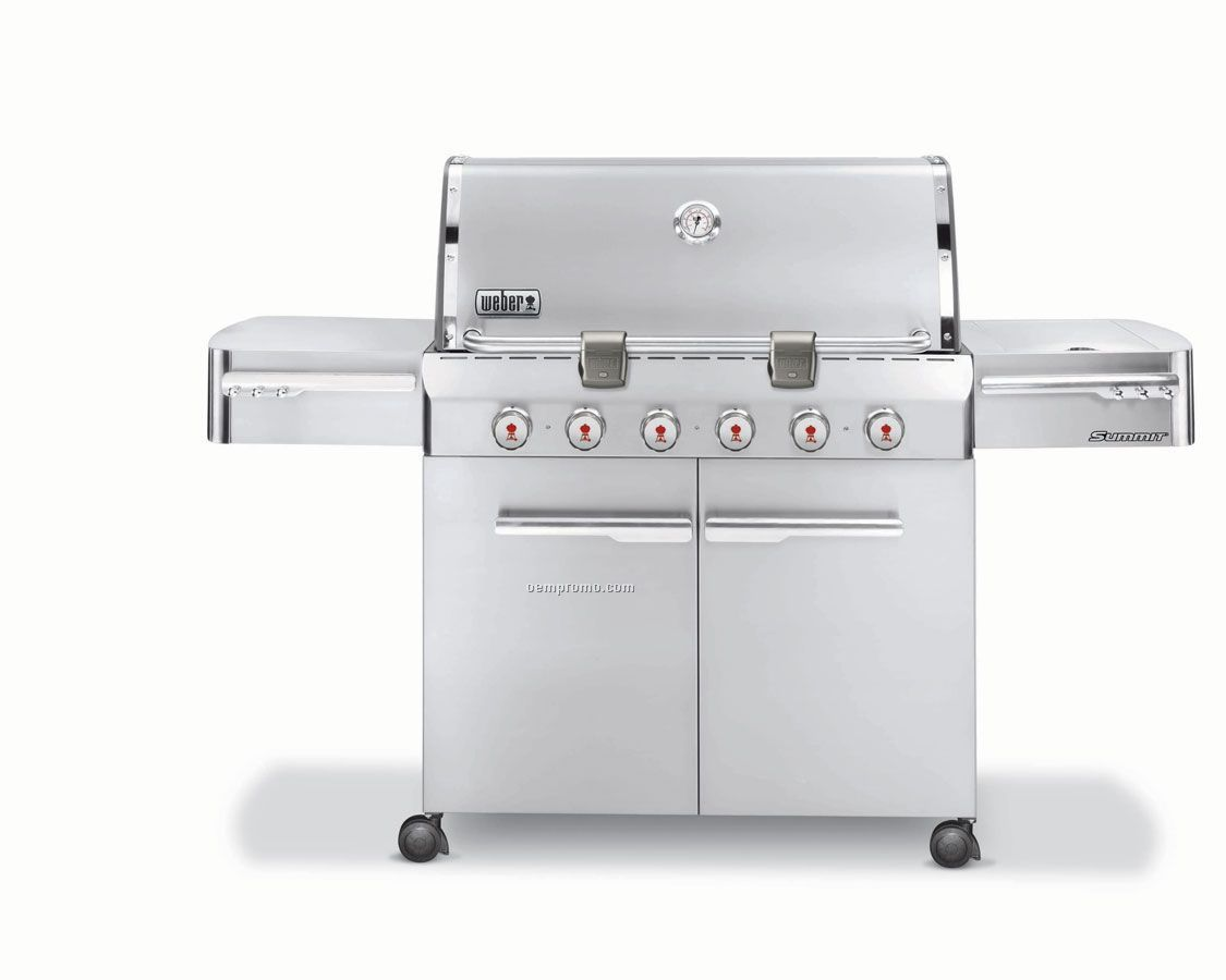 Weber Summit S-620 Stainless Steel Gas Grill