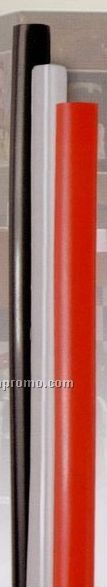 "6"" Giant Straw (Clear / Black Or Red)"