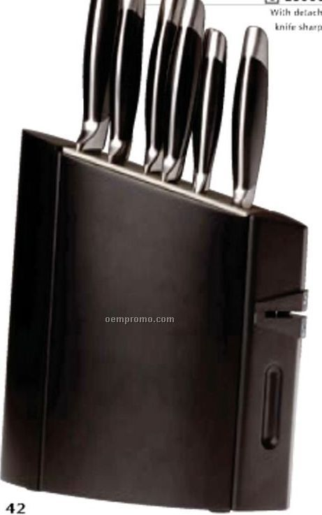 9 Pieces Unico Knife Block Set