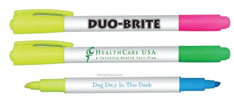 Duo-brite Double Ended Highlighter