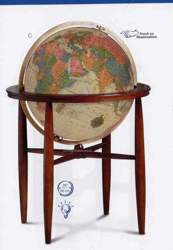 Finley Antique Illuminated Globe