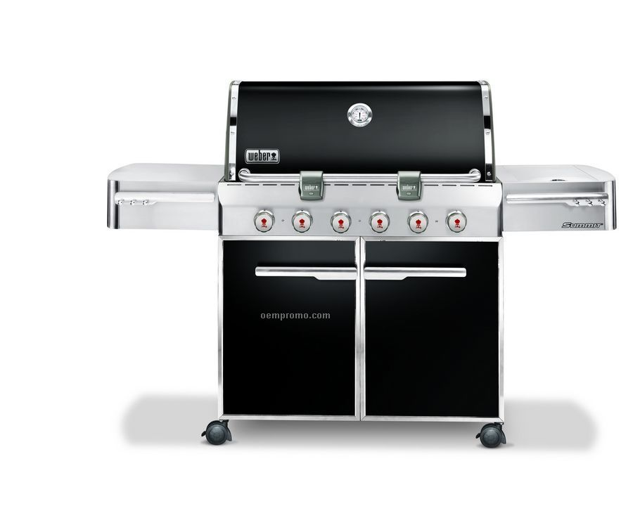 Weber Summit E-620 Stainless Steel Gas Grill