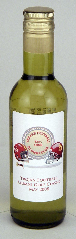 187ml Split Chardonnay Wine With Label