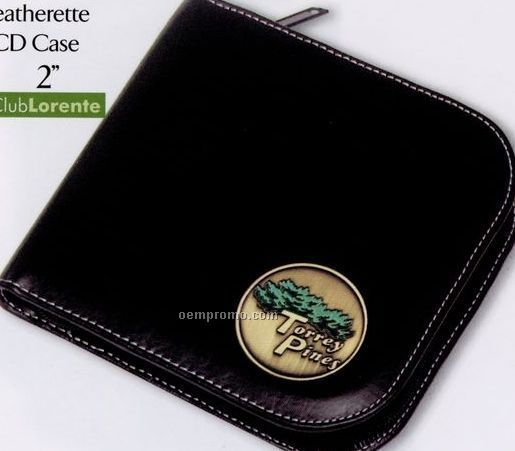 Leatherette CD Case