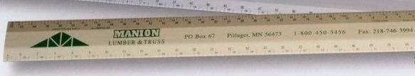 "12"" Joist / Truss Architect Scale (1/2,1) (1/8,1/4)"
