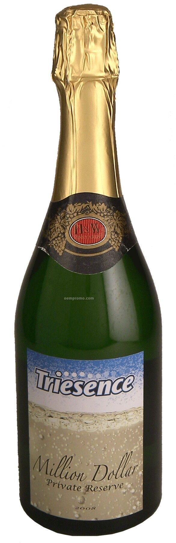 750ml Standard Non-alcoholic Sparkling Grape Juice With Label