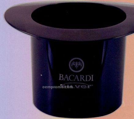 Plastic Top Hat Ice Bucket