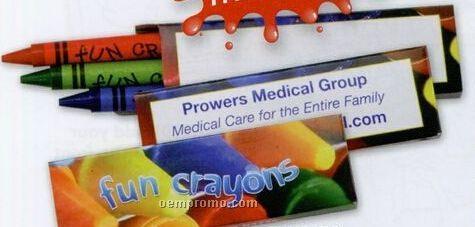 Stock 3 Pack Premium Crayons