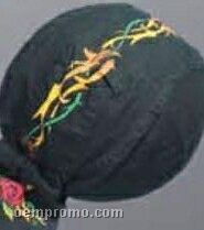 Tribal Rose Cotton Do Rag