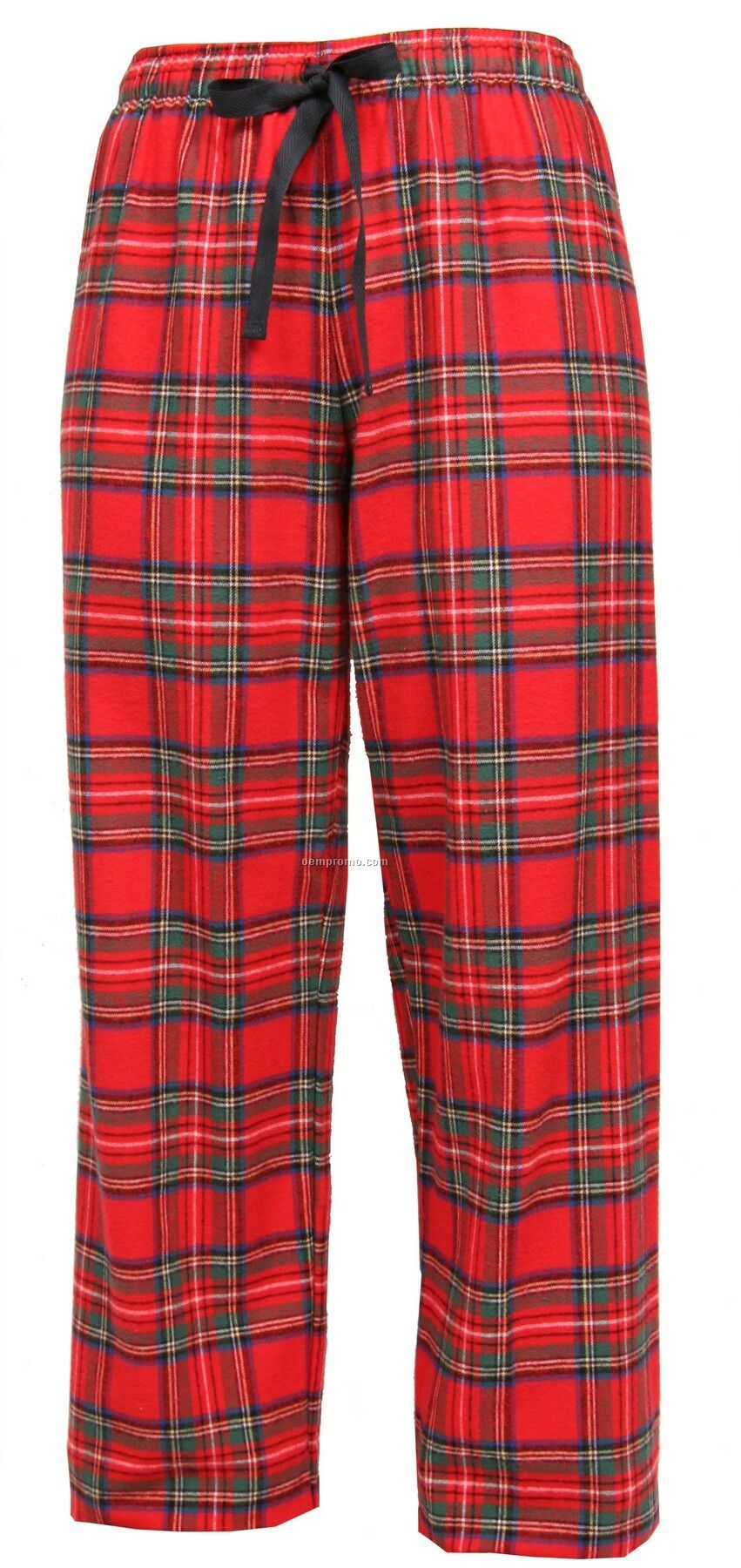 Adult Stewart Plaid Fashion Flannel Pant With Tie Cord