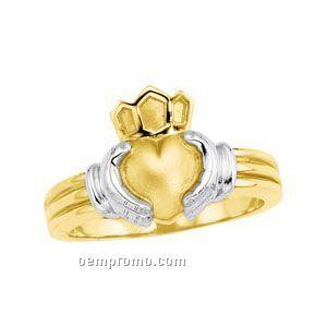 14ktt Gents' Claddagh Ring (Size 7)