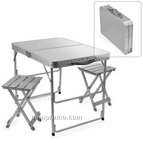 2-person Folding Table & Chairs