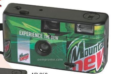 Custom Insert 35mm Camera With Flash