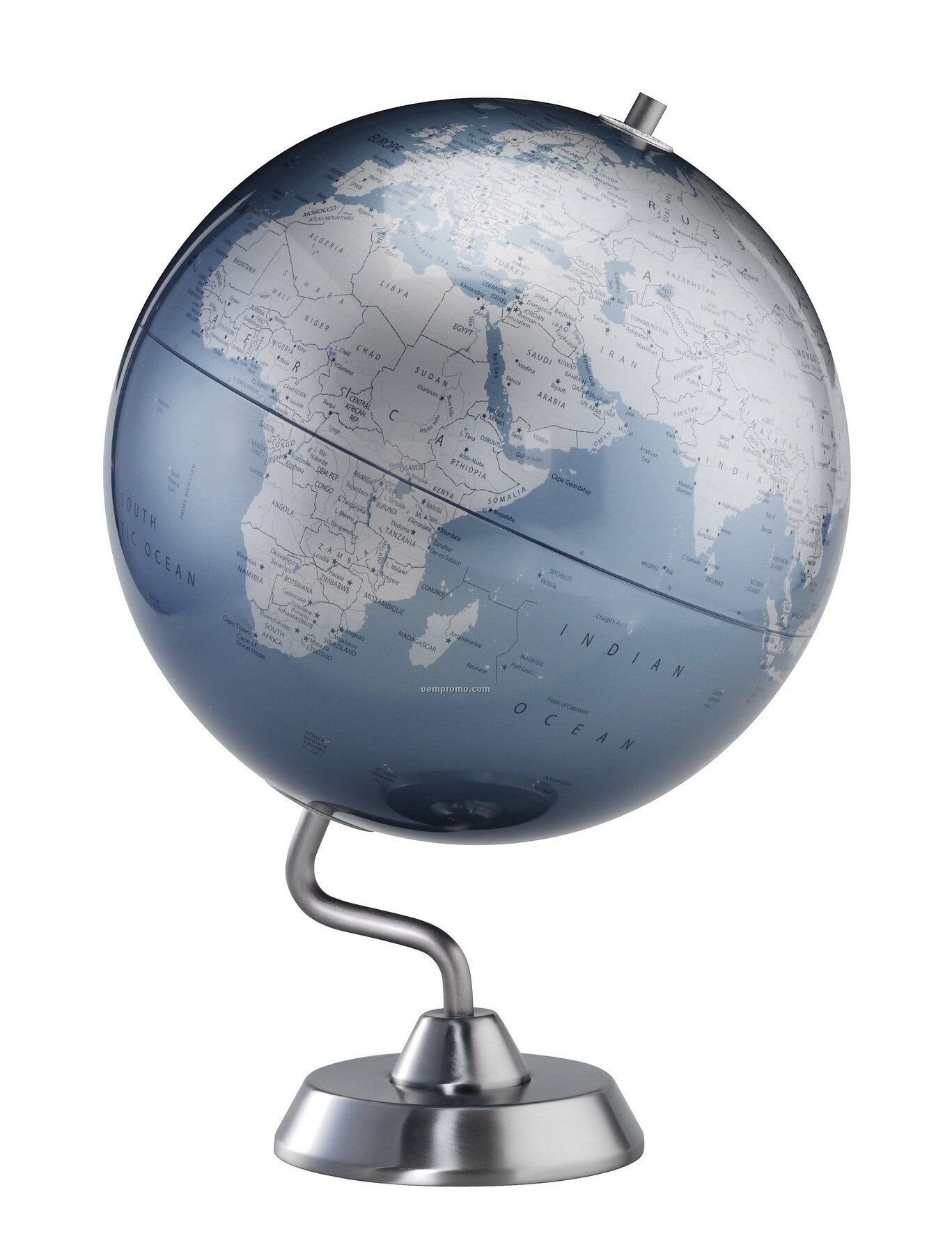 Diamond Marquise Blue Ocean Globe