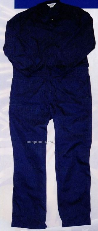 Long Sleeve Unlined Twill Overalls (S-xl)