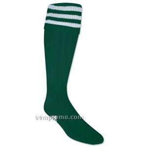 A216214 3-stripe Soccer Sock