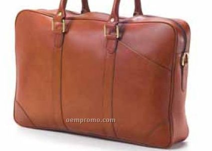 Top Handle Briefcase - Bridle Leather